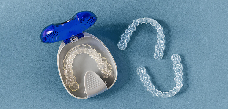 invisalign clear aligners and case